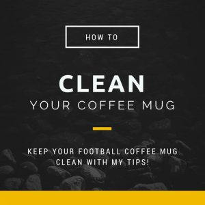 how to clean a coffee mug